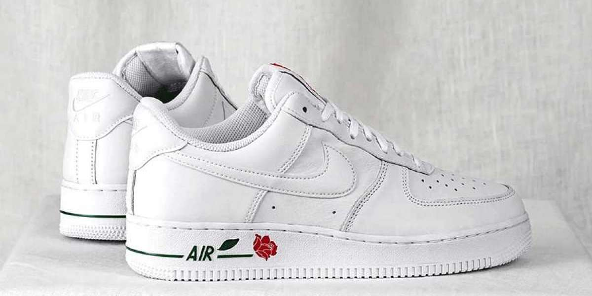 "Nike Air Force 1 Low ""White Rose"" 2021 New Arrival CU6312-100"