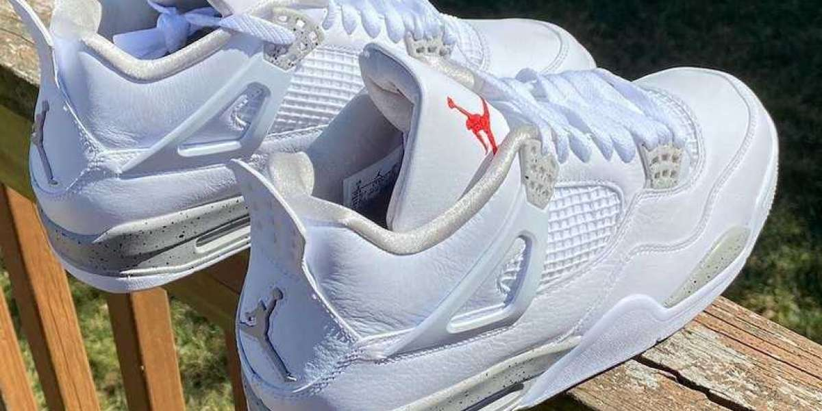 """Air Jordan 4 """"White Oreo"""" CT8527-100 will be officially released on May 29"""