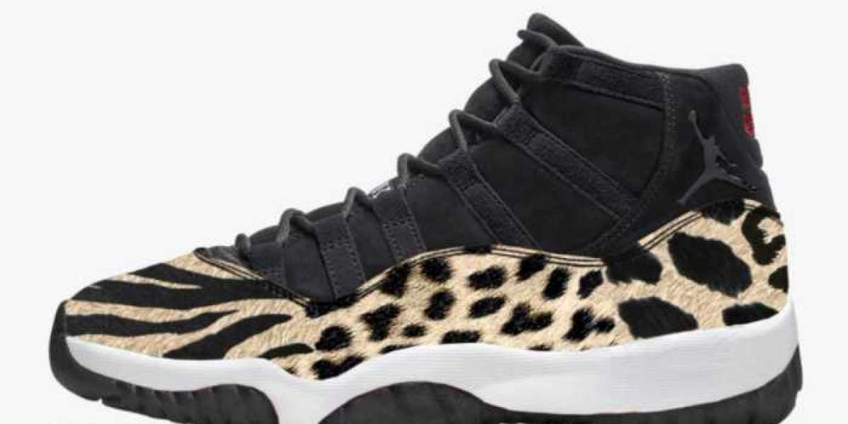 "Women's Air Jordan 11 ""Animal"" AR0715-010 is so beautiful"
