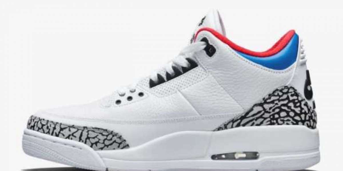 """How about the configuration of the Nike Air Jordan 3 """"Seoul"""" AV8370-100?"""
