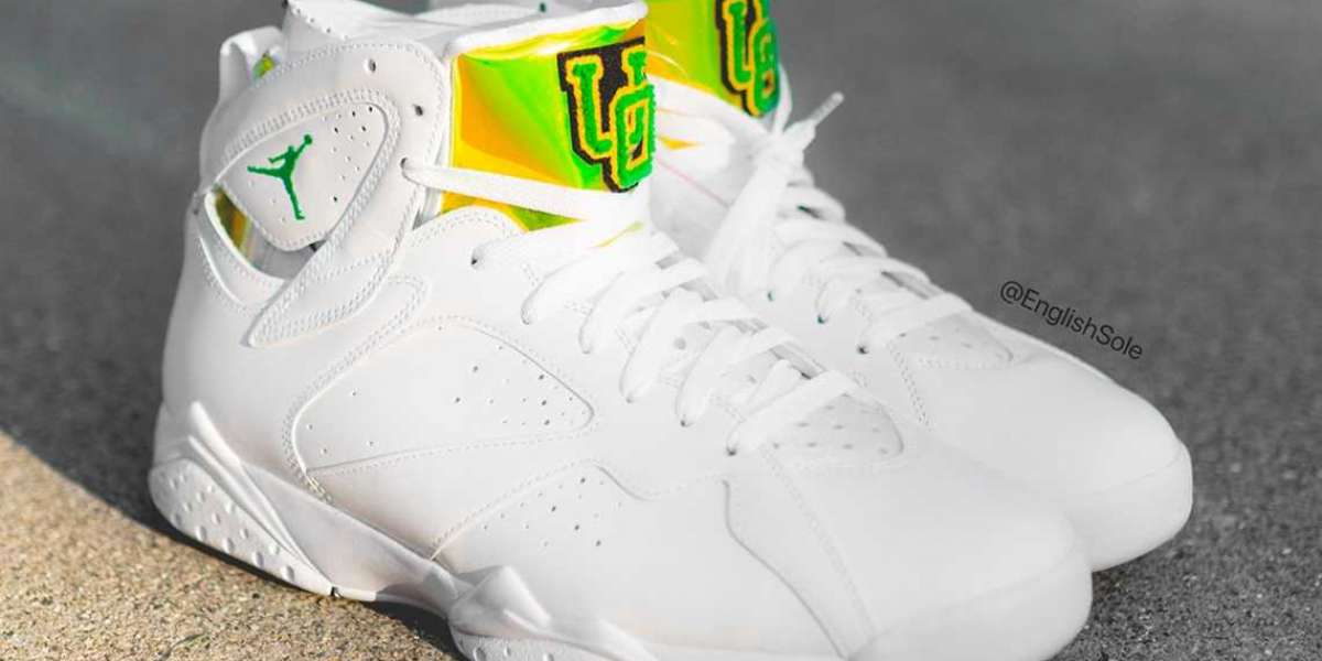 """Only 120 pairs of this Air Jordan 7 """"Oregon"""" PE will be released"""