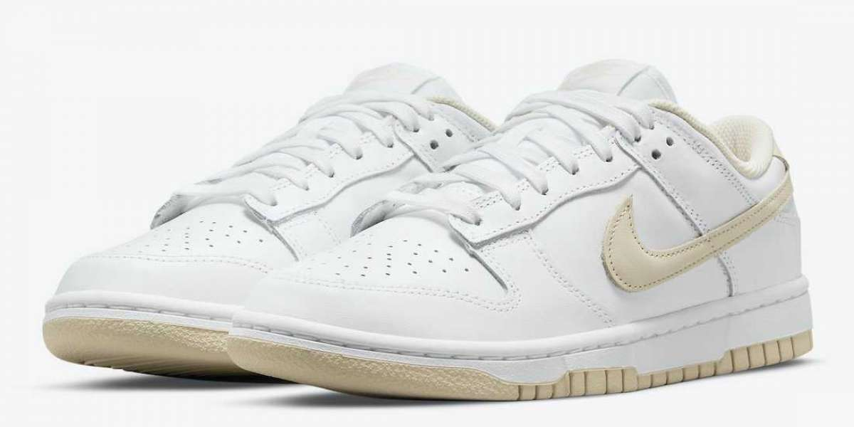 """Latest Release Nike Dunk Low """"Pearl White"""" DD1503-110"""