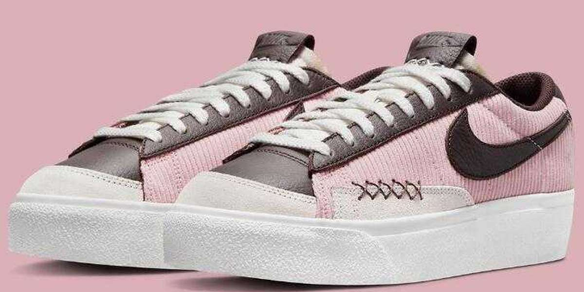 Nike Blazer Low Platform Loosely Mirrors The Stussy SB Dunk Colors